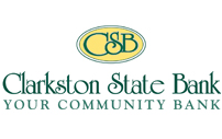 Clarkston State Bank Logo